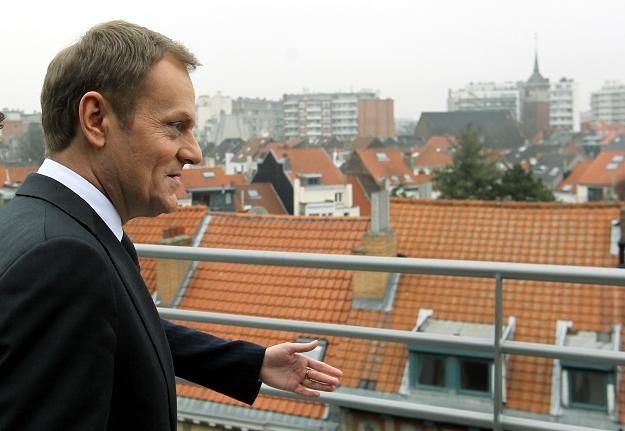 Donald Tusk w Brukseli /PAP