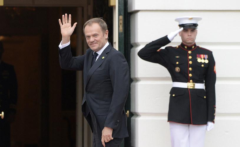 Donald Tusk w Waszyngtownie /AFP