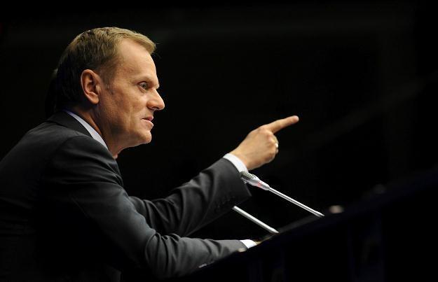 Donald Tusk: Wejdziemy do strefy euro, kiedy Polska będzie w 100 proc. na to gotowa /AFP