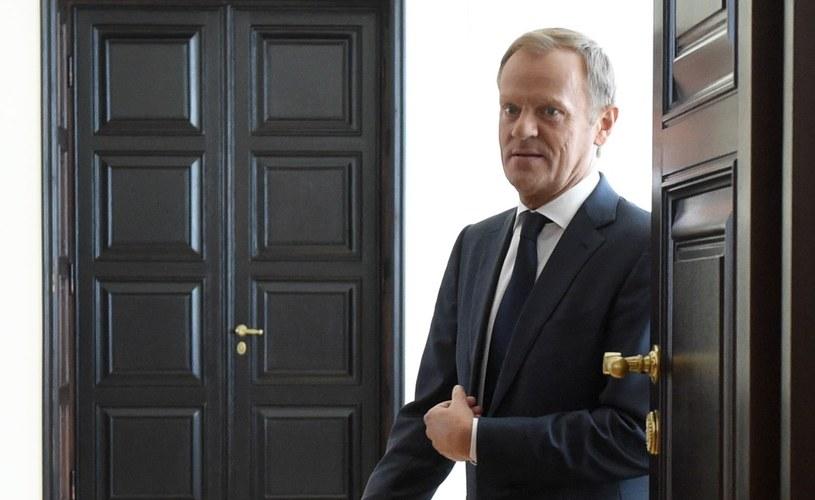 Donald Tusk wyprowadza się do Brukseli /Radek Pietruszka /PAP