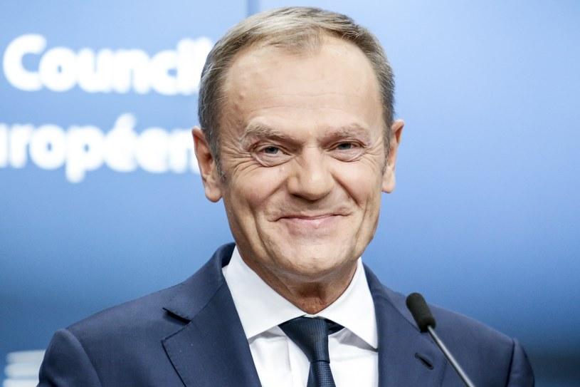 Donald Tusk wystartuje w eurowyborach? /NurPhoto /PAP