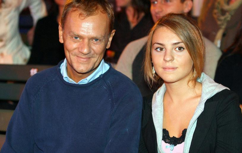 Donald Tusk z córką /- /AKPA