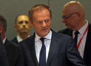 Donald Tusk zawiesza unijny szczyt