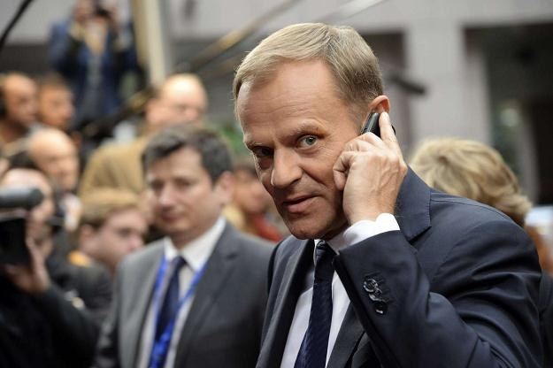 Donald Tusk zgromadził ok. 152 tys. zł, a przez rok jego oszczędności urosły o ok. 113 tys. zł /AFP
