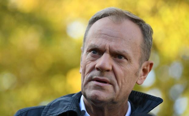 Donald Tusk został wybrany na przewodniczącego Platformy Obywatelskiej