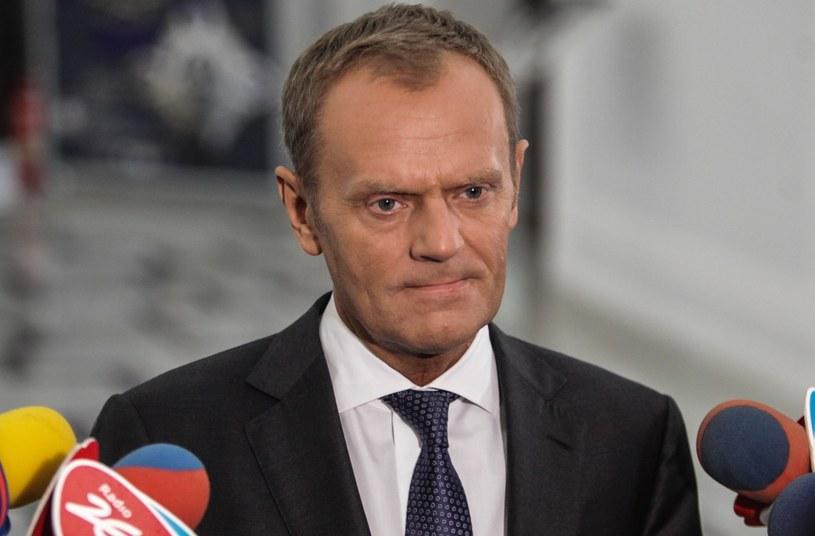 Donald Tusk /Jakub Kamiński   /PAP