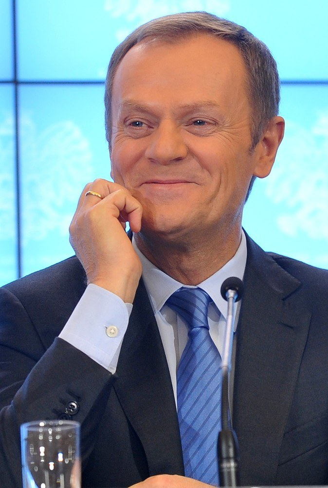 Donald Tusk /Witold Rozbicki /Reporter