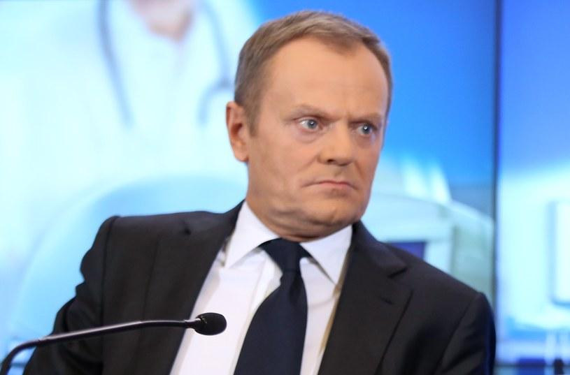 Donald Tusk /Leszek Szymański /PAP