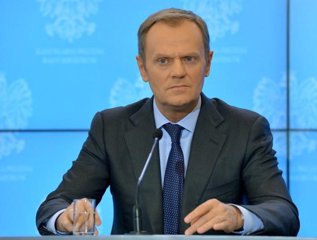 Donald Tusk /PAP/Radek Pietruszka    /PAP