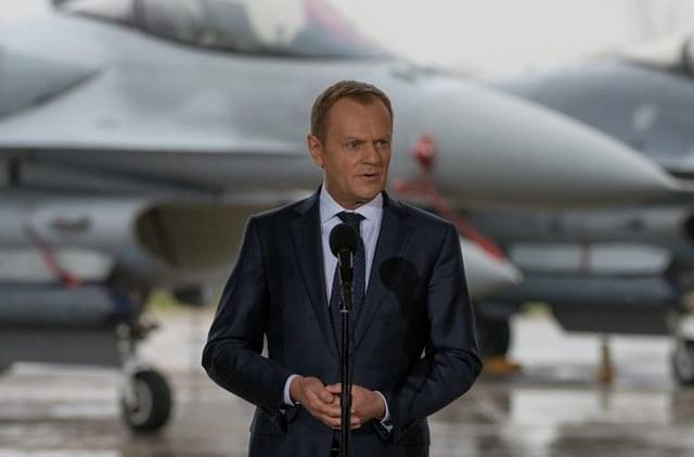 Donald Tusk /Grzegorz Michałowski /PAP