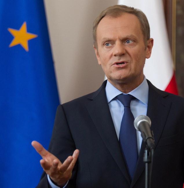 Donald Tusk /PAP/Andrzej Grygiel    /PAP