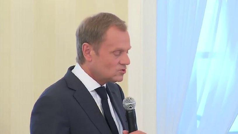 Donald Tusk /TVN24/x-news