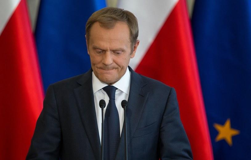 Donald Tusk /Andrzej Iwańczuk /Reporter
