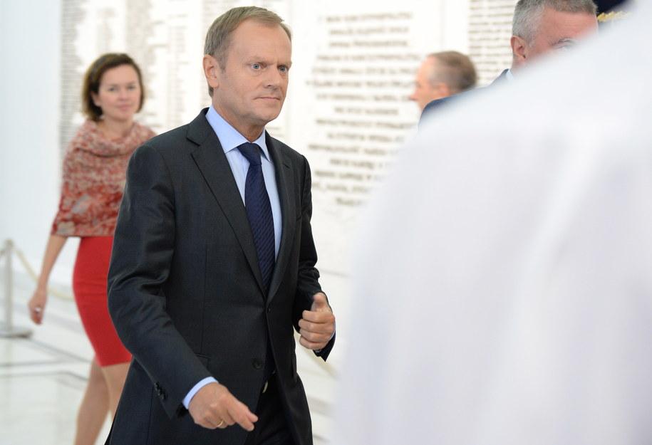 Donald Tusk /Jacek Turczyk /PAP