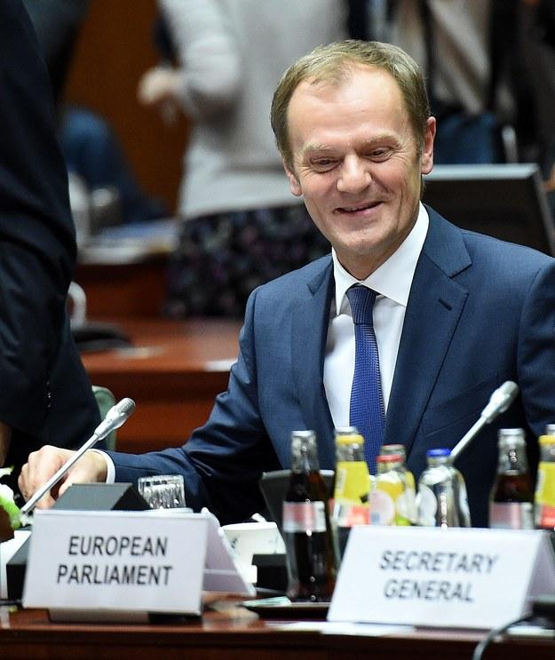 Donald Tusk / Radek Pietruszka   /PAP/EPA
