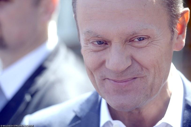 Donald Tusk /Wojciech Strozyk/REPORTER /East News