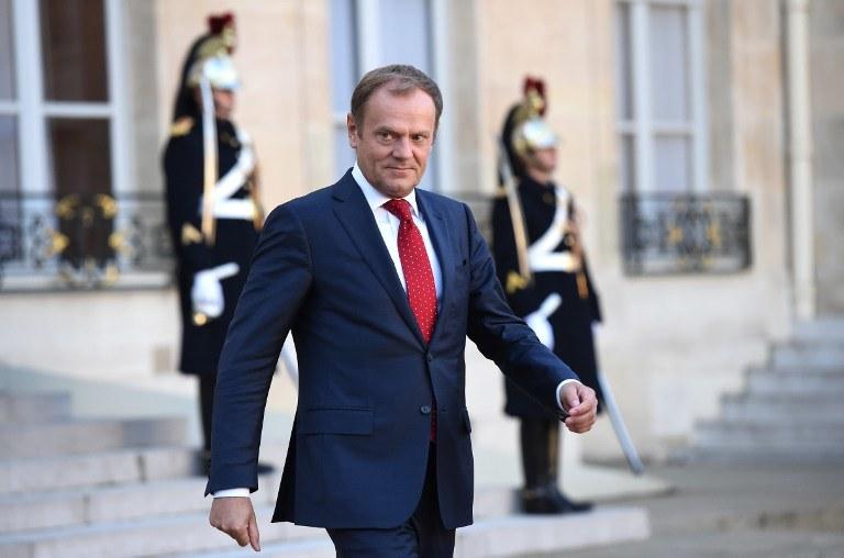 Donald Tusk /STEPHANE DE SAKUTIN / AFP  /AFP