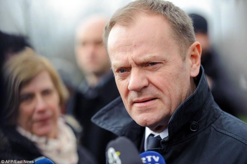 Donald Tusk /Jure Makovec/AFP /East News