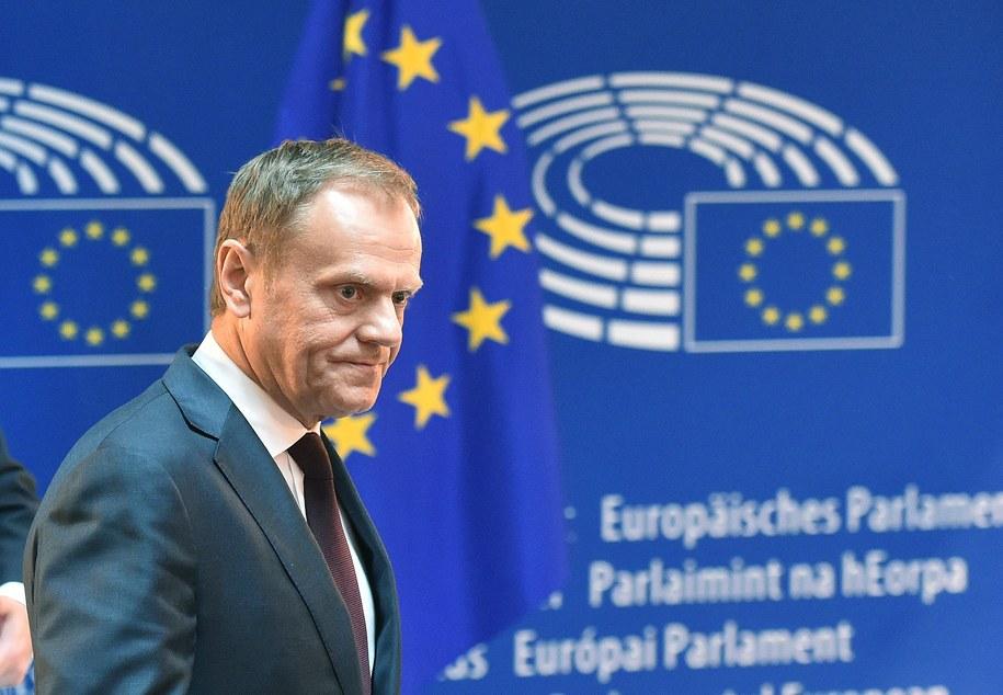 Donald Tusk /Radek Pietruszka /PAP/EPA