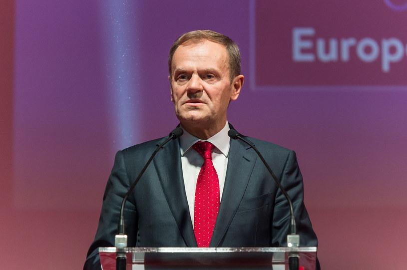 Donald Tusk /Maciej Kulczyński /PAP