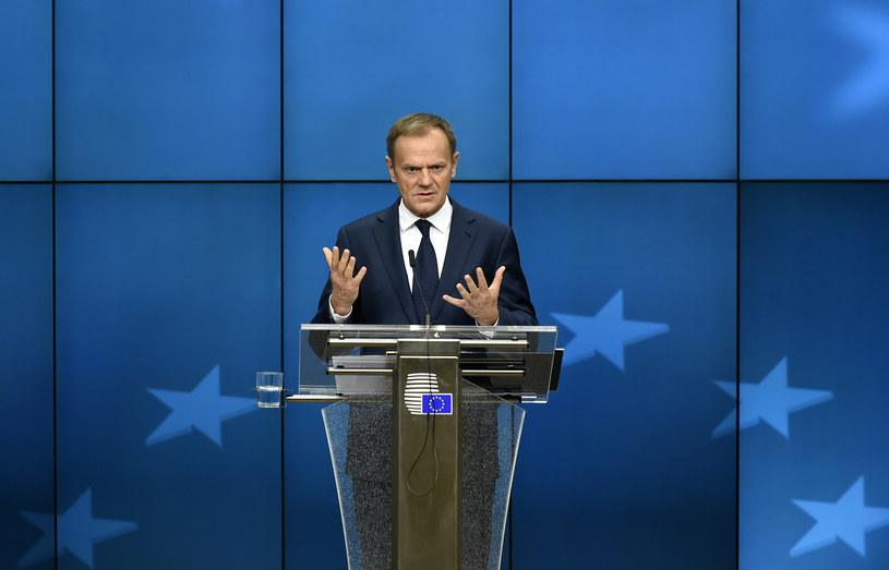 Donald Tusk /JOHN THYS /AFP