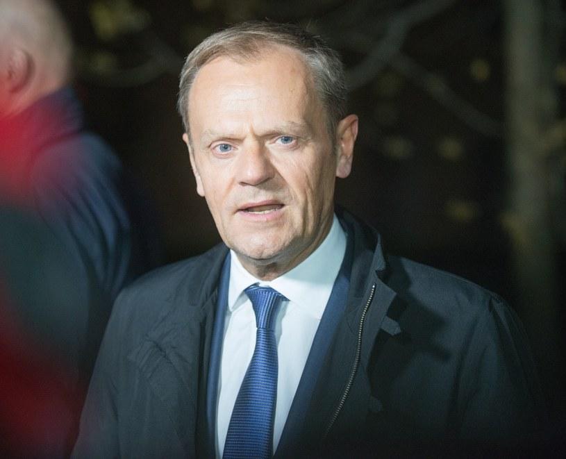 Donald Tusk /Rozbicki /Reporter