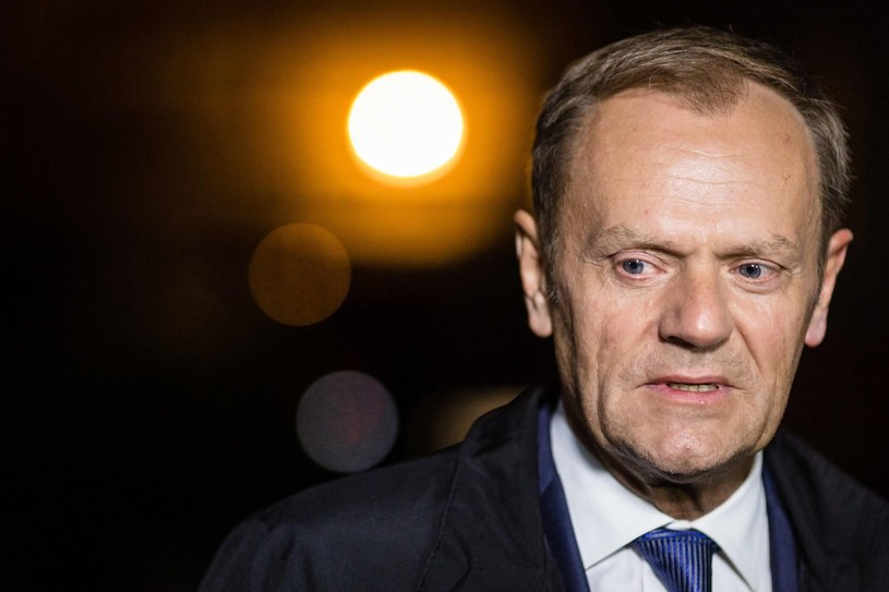 Donald Tusk /Wojtek Radwański /AFP