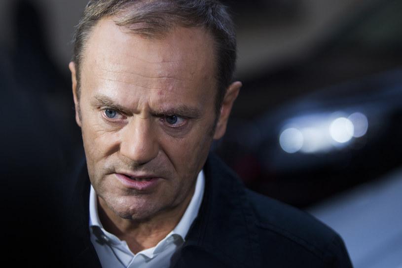 Donald Tusk /ANDRZEJ BANAS/POLSKA PRESS /East News