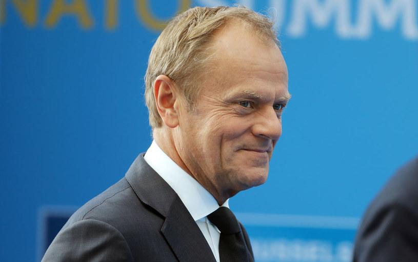 Donald Tusk /TATYANA ZENKOVICH  /AFP