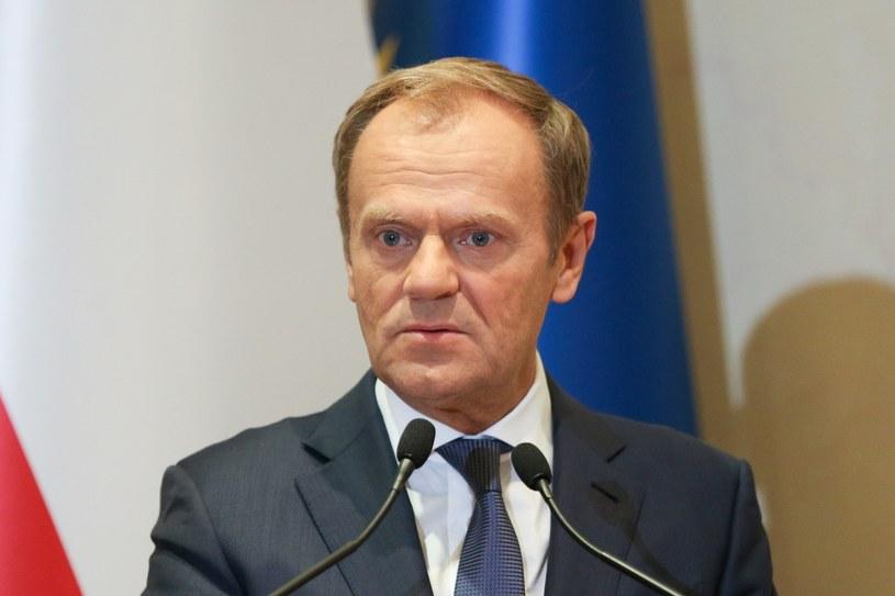 Donald Tusk /Beata Zawrzel /Reporter