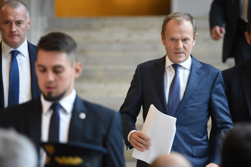 Donald Tusk /Zbyszek Kaczmarek /Reporter