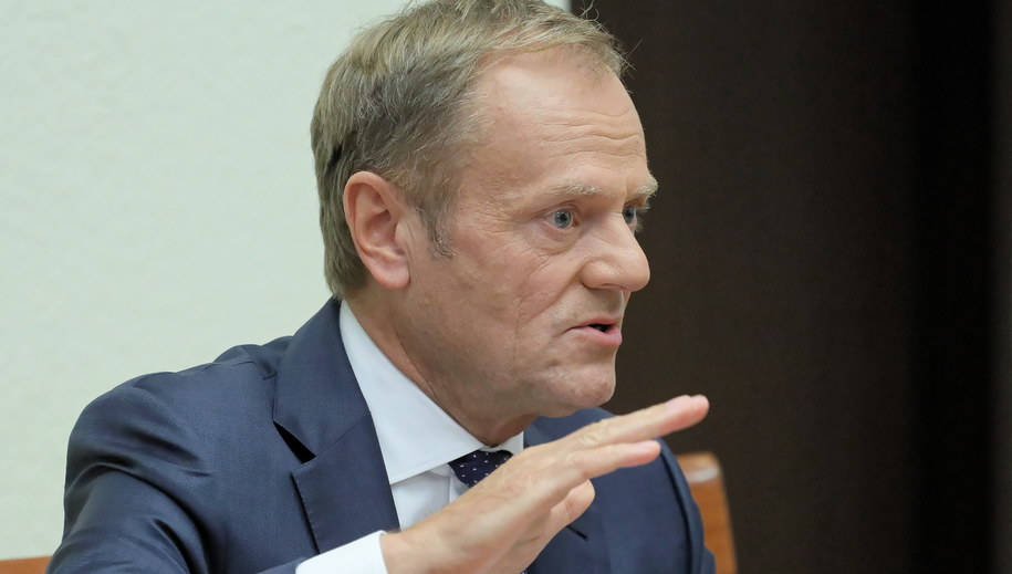 Donald Tusk /Paweł Supernak /PAP