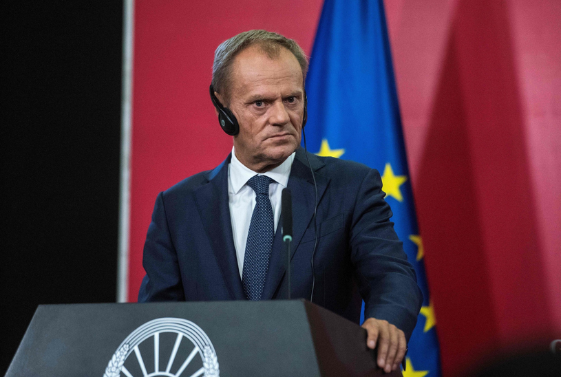 Donald Tusk /Robert ATANASOVSKI/AFP /East News