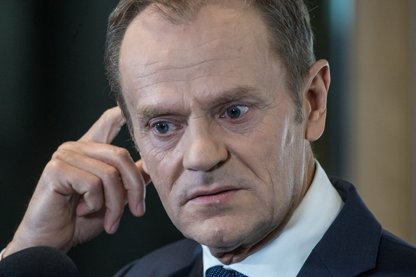 Donald Tusk / Jacek Domiński /Reporter