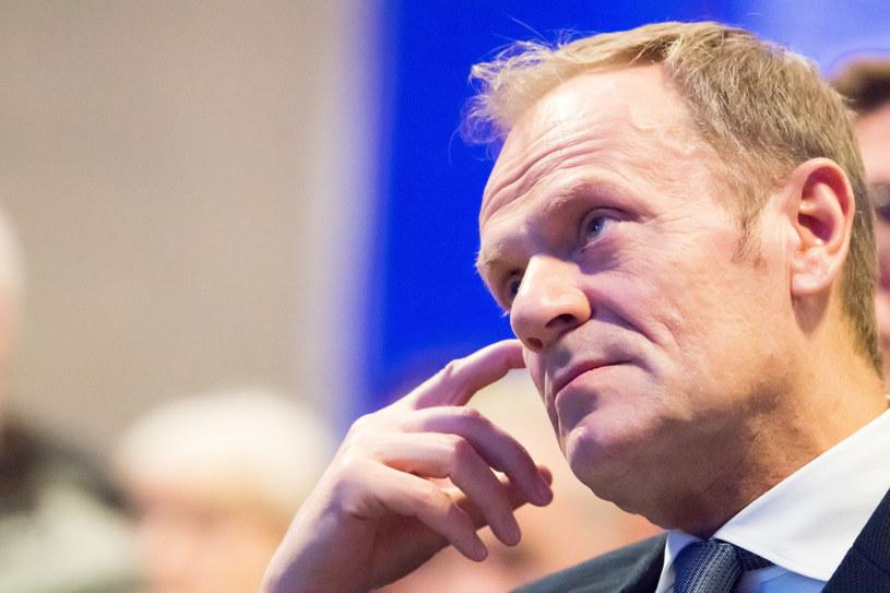 Donald Tusk /Wojciech Strozyk/ /Reporter
