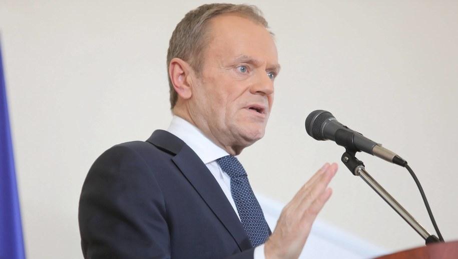 Donald Tusk / Artur Reszko    /PAP