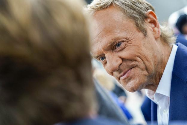 Donald Tusk /Daina Le Lardic / Isopix /East News