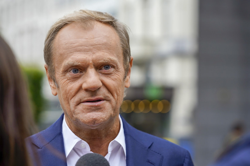 Donald Tusk /Daina Le Lardic/Isopix /East News