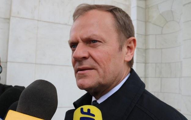 Donald Tusk /Paweł Żuchowski /RMF FM