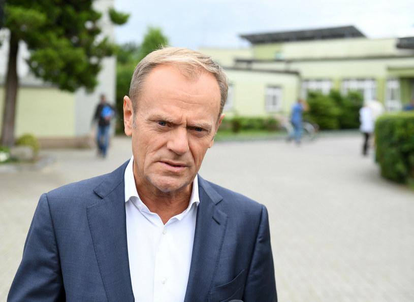 Donald Tusk /Piotr Hukalo /East News