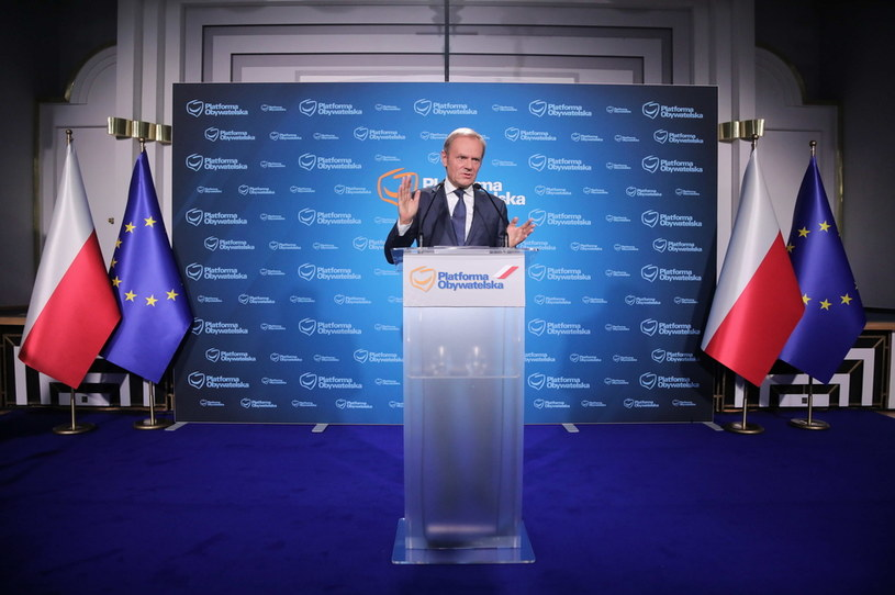 Donald Tusk /Wojciech Olkuśnik /PAP