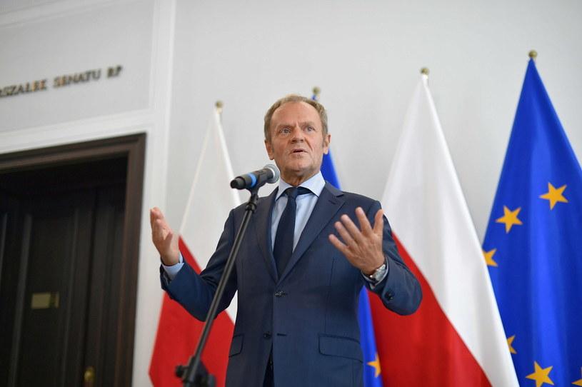 Donald Tusk / Marcin Obara  /PAP