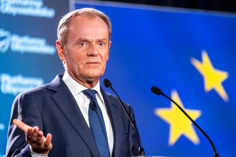Donald Tusk /PAP/Tytus Żmijewski /PAP