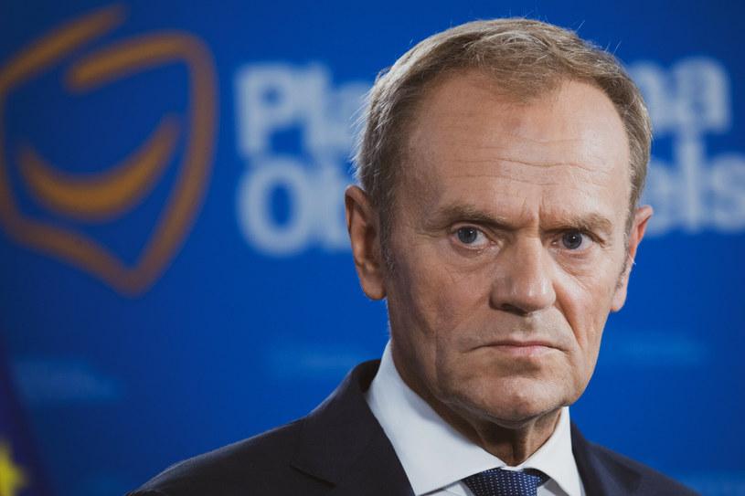 Donald Tusk / fot Jacek Dominski /Reporter