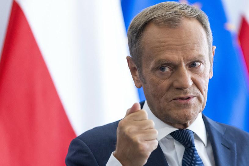 Donald Tusk /Andrzej Iwanczuki/REPORTER /Reporter