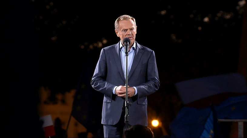 Donald Tusk /Polsat News