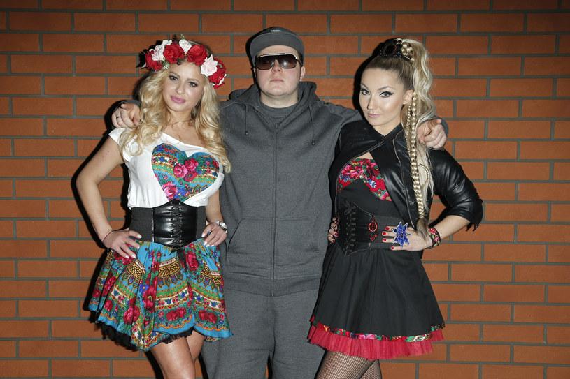 Donatan wraz z Cleo i Paulą Tumalą /Podlewski /AKPA