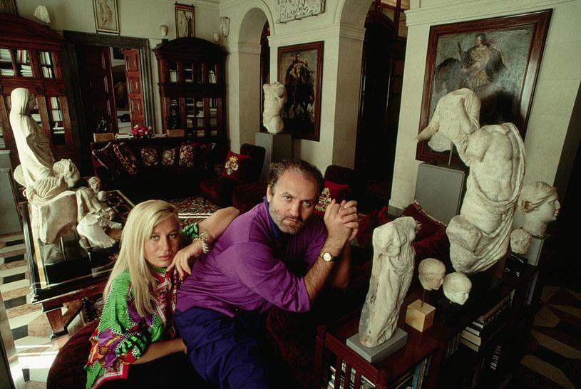 Donatella Versace i Gianni mimo różnicy wieku rozumieli się bardzo dobrze / Stephanie Maze / Contributor /Getty Images