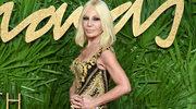 "Donatella Versace naturalnym futrom mówi ""nie"""