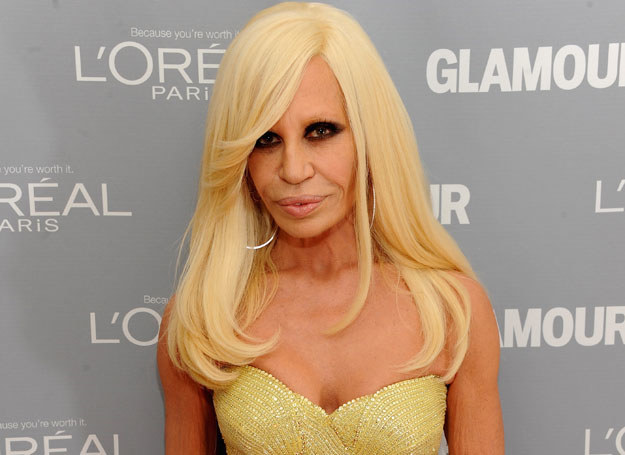 Donatella Versace /Getty Images/Flash Press Media